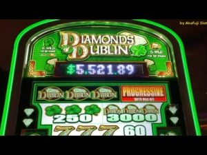 Live Play – large WIN – DIAMOND DUBIN  Slot Machine @ San Manuel casino bonus, カリフォルニア カジノ, 赤富士, アカフジ スロット