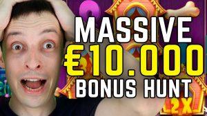 MASSIVE €10000 BONUS HUNT RESULTS MANY large WINS