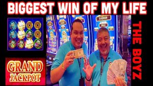 MASSIVE GRAND JACKPOT WIN!💰BIGGEST WIN OF MY LIFE🔥RUDIES CRUISE 2020!