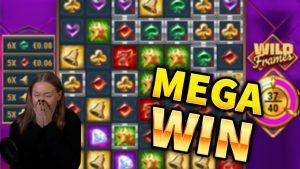 MEGA WIN!!! Wild Frames large WIN!! casino bonus Games from MrGambleSlot Live current