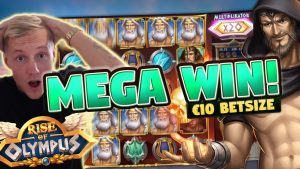 MEGA WIN! ascent of Olympus large WIN – 10 euro bet – Huge win from casino bonus LIVE current