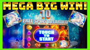 MEGA large WIN!!! BEAUTIFUL BONUSES! Mystical Unicorn Slot Machine