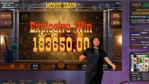MONEY develop 183.650€ tape Win of Roshtein LIVE