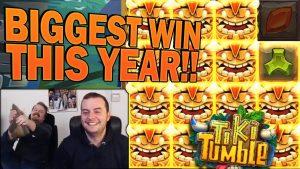 My biggest win this yr! – Tiki Tumble