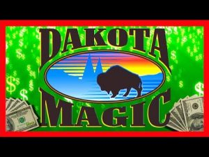 OMG כל כך הרבה זכיות גדולות !!! SDGuy בוחן בונוס קזינו של DAKOTA MAGIC יחד עם HITS כמה זכיות ענקיות ענקיות!