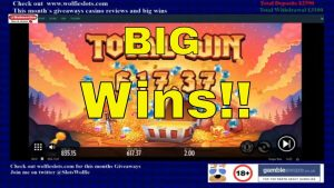 Online Slots large Win Compilation