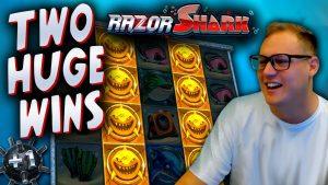 Pro RAZOR SHARK Slot participant Winning large! (€10 bet)
