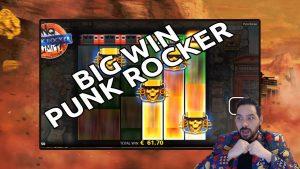 Punk Rocker duża wygrana - kupowane bonusy płacą!