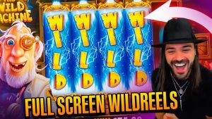 ROSHTEIN total covert Win  on The Wild Machine slot – TOP 5 Mega wins of the calendar week