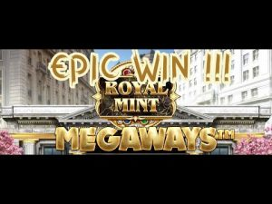 ROYAL MINT. EPIC large WIN -MEGAWAYS-