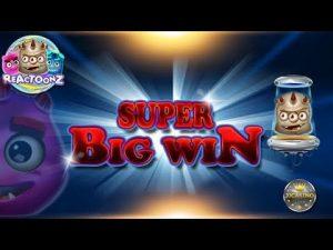 SUPER large WIN BEI REACTOONZ (PLAY'N GO) – 5€ EINSATZ!