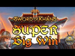SUPER large WIN BEI SWORD OF KHANS (THUNDERKICK) – 3€ EINSATZ!