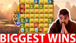 Streamers Biggest Wins #16 GOLDEN GLYPH SLOT WILD WIN   SPINTWIX
