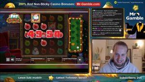 Streamere STOR VINNER! STØRSTE VINNER AV Kalenderuka! casino bonus spilleautomater!