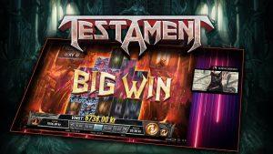 TESTAMENT (PLAY'N GO) SUPER MEGA WIN!