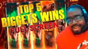 TOP 5 SUURIMAT VÕIT | PARIMAD VALIKUD suurtest kasiino boonuse võitudest