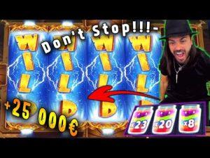 TOP 5 ! Roshtein – HUGE WINS OF THE calendar week! casino bonus Slots! #2