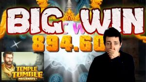Temple Tumble Slot Online besar Win | Epic Win on Temple Tumble Relax Game