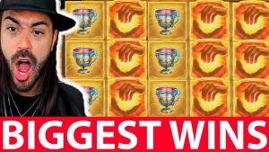 Twitch casino bonus Wins Compilation #1 Roshtein INSANE WIN MIDAS GOLDEN touching