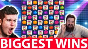 casino bonus BIGGEST WINS #18 Huge Win inward JAMMIN JARS SLOT