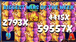 casino bonus BIGGEST WINS OF THE calendar week! BUFFALO Rex,WILD FRAMES, LIL DEVIL EPIC WINS!