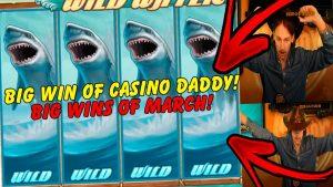 casino bonus DADDY large WIN ON WILD H2O SLOT! TOP WINS OF MARCH inward ONLINE casino bonus!