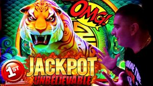first off HANDPAY JACKPOT On YouTube For Jinse Dao TIGER Slot Machine – $25 MAX BET