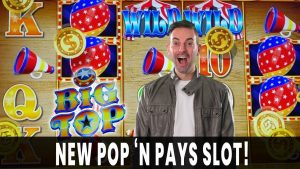 💰 large PAYS on *novel* Circus Themed large TOP Slot with @The Slot Cats  🎪 Pop N' Pays as well as BCSlots #advertizing