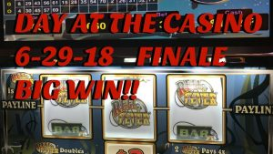 large WIN!! ** 24-60 minutes interval AT THE casino bonus 6/29/18 – FOLLOW THE MONEY! – FINALE!