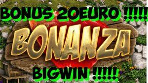 large WIN BONANZA 20 EURO BET !!!!!!