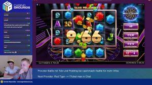 large WIN!!! Online casino bonus Slot Millionaire (BTG) – Bet 0.8€ Win 494€ (618x)
