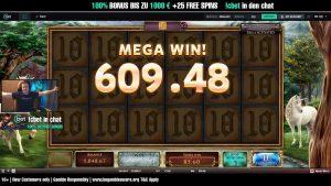 large WIN!!! Online casino bonus Slot Mystic Mirror (cherry Rake Gaming)- Bet 1.60€ Win 885.60€ (554x)