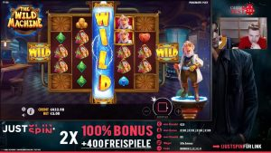 large WIN!!! Online casino bonus Slot The Wild Machine (Pragmatic Play) – Bet 5€ Win 1.685€ (337x)
