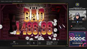 large WIN!!! Online casino bonus Slot Tombstone Slot (Nolimit urban center) – Bet 30€ Win 22.881€ (763x)