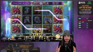large WIN!!! Online casino bonus Slot ascension of Merlin (Play'n GO)  – Bet 20€ Win 22.900€ (1.145x)