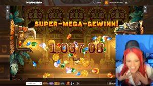 large WIN!!! Online casino bonus Slot ascent of Maya (NetEnt) – Bet 1€ Win 2.557€ (2.557x)