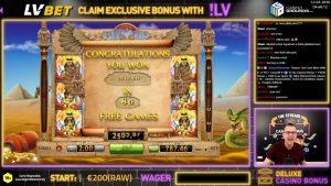 μεγάλη νίκη !!! Online κουλοχέρηδες μπόνους καζίνο Pyramid Treasure (προηγούμενα παιχνίδια BF) - Στοιχηματίστε 2 € Κερδίστε 2.510 € (1.255x)