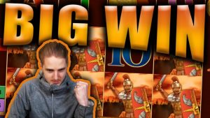 large WIN on ROMAN LEGION – casino bonus Slots large Wins