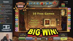 large WIN on volume of Ra 6 Slot – £6 Bet!