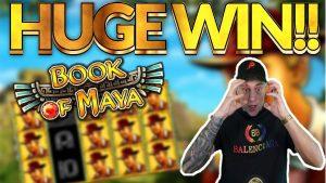 large WIN!! volume of Maya large win – HUGE WIN on casino bonus slots from Casinodaddy