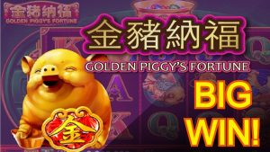 novel GAMES & MAJOR large WIN! GOLDEN PIGGY'S FORTUNE & Au DRAGON & DOOR TO RICHES SLOT MACHINE POKIES