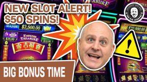 ⚠ novel Slot Alert! 🤔 Do $50 SPINS atomic number 82 to large Wins?