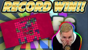 tape WIN! Cubes large win – HUGE WIN on novel slot from Hacksaw gaming