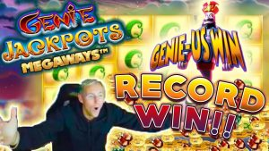 tape WIN Genie Jackpots for our BIGGEST WIN OVER 2900x