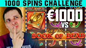 volume OF DEAD 1000 SPINS SLOT CHALLENGE – large WINS?