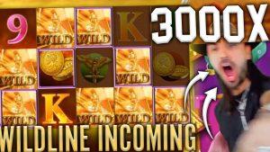 🔥 x3000 WILDLINE ...! / bonus kasino KEMENANGAN TERBESAR DALAM kalender minggu! / 2020 mar # 5