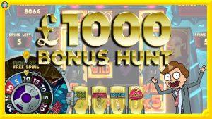 £1000 LIVE BONUS HUNT! large Rick & Morty Megaways Win !!!