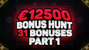 VÝSLEDKY BONUSOVÝCH VÝSLEDKŮ 12,500 31 EUR   XNUMX ONLINE kasino bonus SLOT MACHINE FUNKCE   ft. BONANZA & TESTAMENT!
