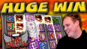 €20 Bonus MEGA large WIN on Lil' Devil slot!