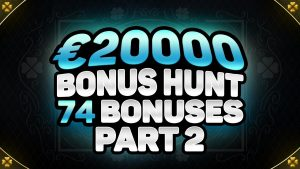 €20,000 BONUS HUNT RESULTS | 74 ONLINE casino bonus SLOT MACHINE FEATURES | ft. HOLY DIVER & BUFFALO manful mortal monarch!